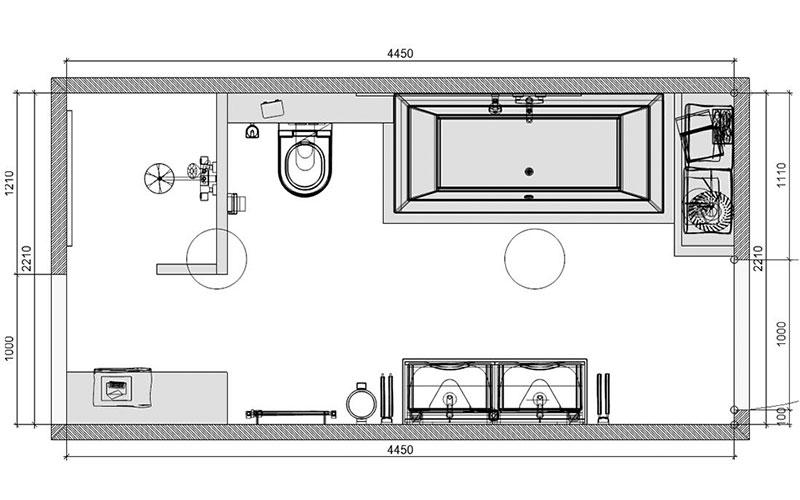 Stunning Plattegrond Badkamer Photos - House Design Ideas 2018 ...