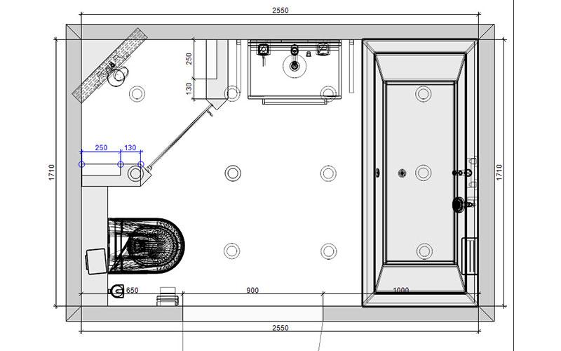 Badkamer oudenbosch donkere vloertegels op de wand - Kaart badkamer toilet ...