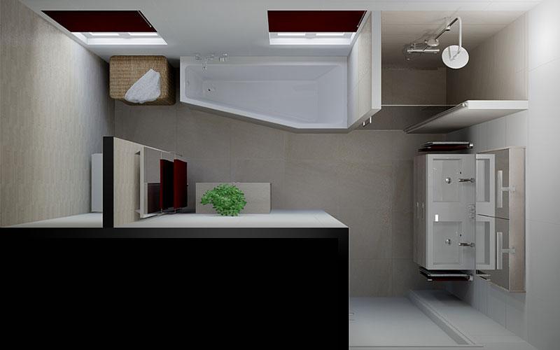 Badkamer Prinsenbeek, wasmachine en droger in de badkamer