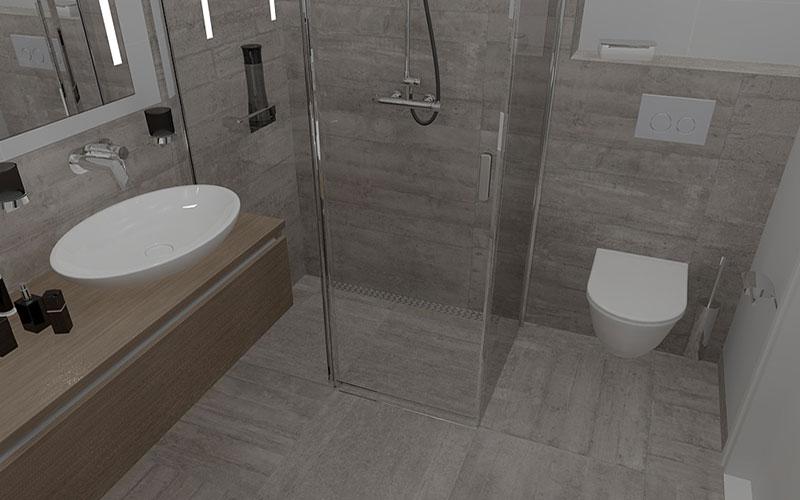 Fabulous Badkamer Steenbergen, badkamer met vrijstaand bad EA04