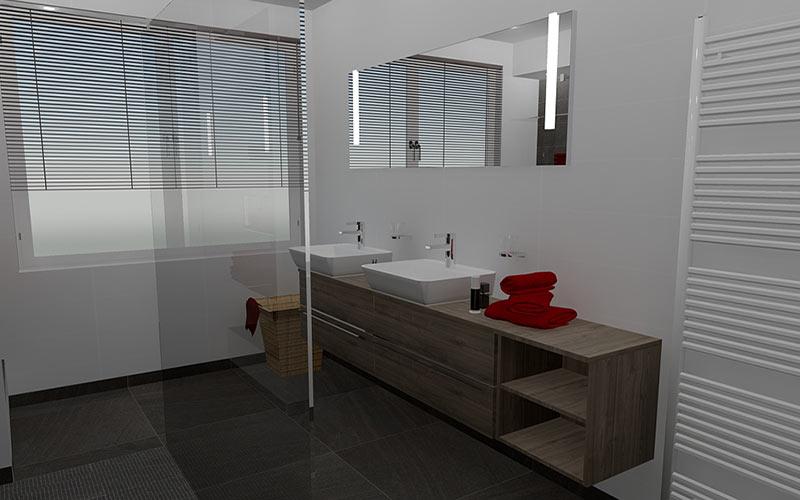Kosten Extra Badkamer ~ Badkamer Zevenbergen, design badkamer met grote inloopdouche