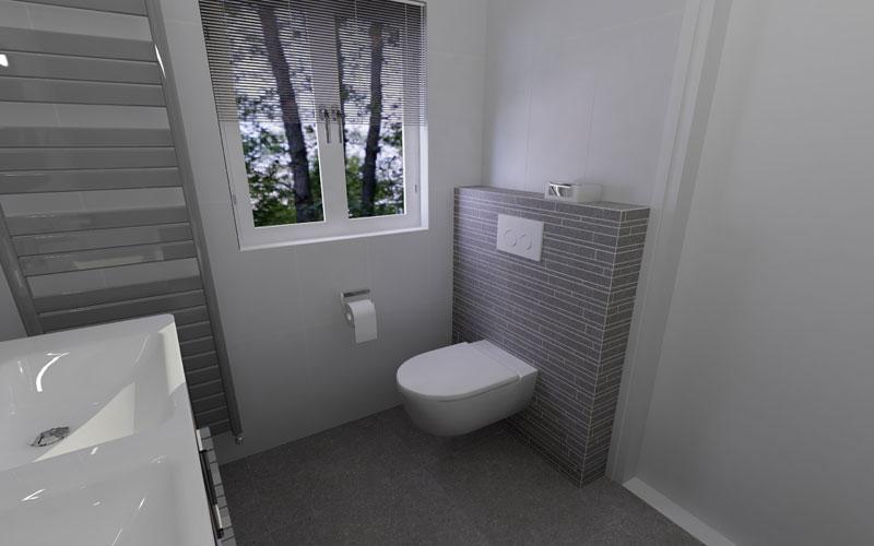Badkamer Rotterdam een tijdloze badkamer in wit en grijs