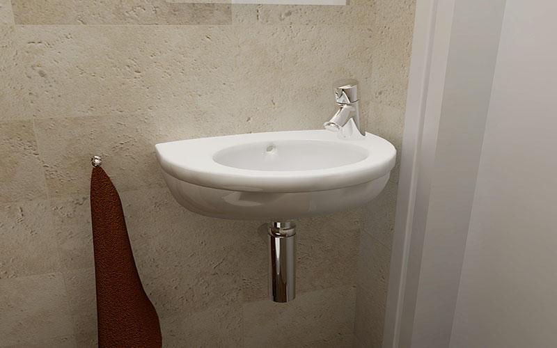 Klein toilet