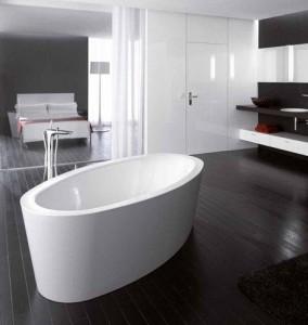 Bette Silhouette vrijstaande baden
