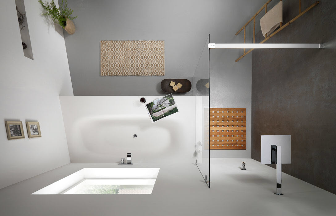 Badkamer idees design modern small bathrooms and bathroom for Modern badkamer idee