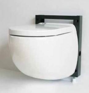 Sanibroyeur compact wandcloset