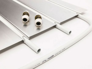 Uponor NRG panel wandverwarming