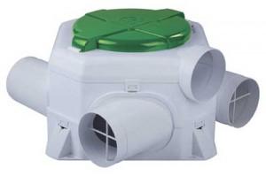 S&P Ozeo woonhuis ventilatiebox