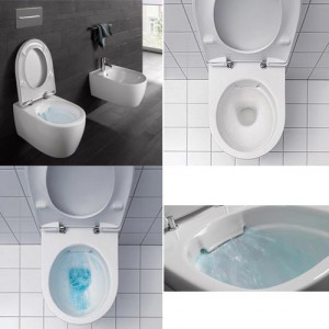 Sphinx Rimfree toilet