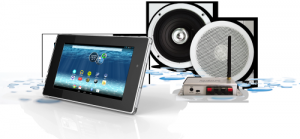 Aquasound waterdicht tablet