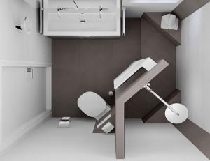 Een kleine badkamer ontwerpen