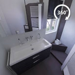 Kleine badkamer voorbeeld