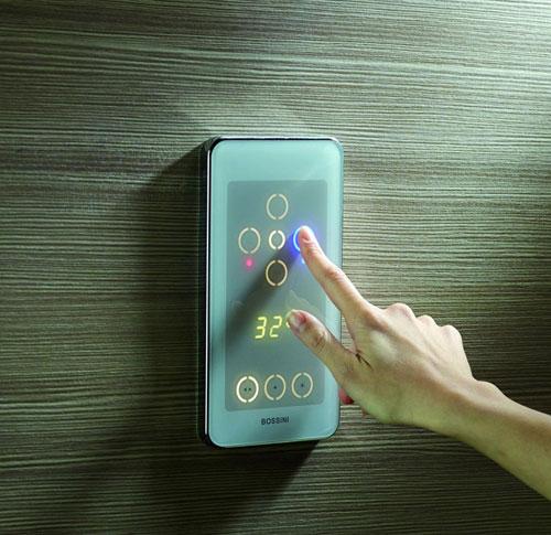 Bossini Eikon Elektronische Digitale Kraan Bediening Voor
