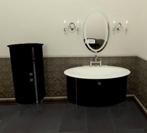 Klassiek badkamer meubel