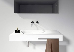 Riho Lorient wastafel Solid Surface