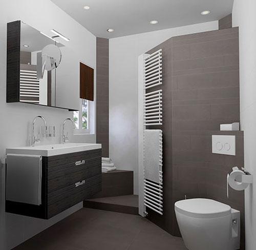 het ontwerpen van een inloopdouche voor de badkamer. Black Bedroom Furniture Sets. Home Design Ideas