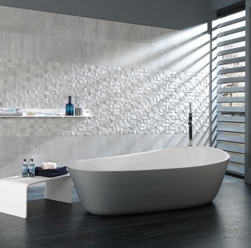 Porcelanosa portland tegels voor de moderne badkamer - Porcelanosa tegel badkamer ...