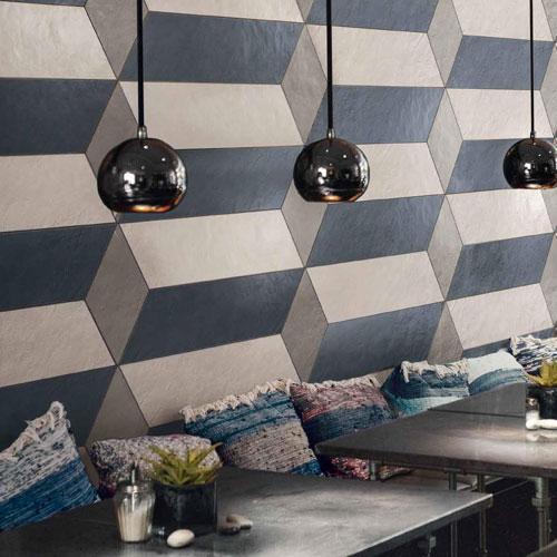 Supergres visual design gekleurde wandtegels for Wandtegels badkamer