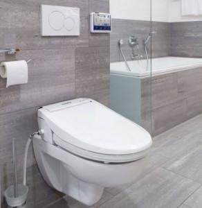 Aquatec Pure toiletzitting met onderdouche