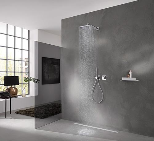 Ixmo kranen van keuco strak design in de badkamer for Badkamer design