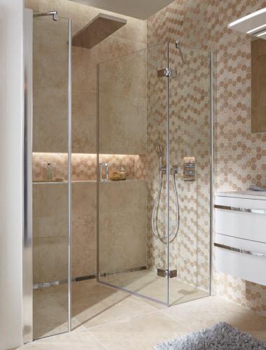 hsk premium softcube pendeldeur voor meer ruimte in de badkamer. Black Bedroom Furniture Sets. Home Design Ideas