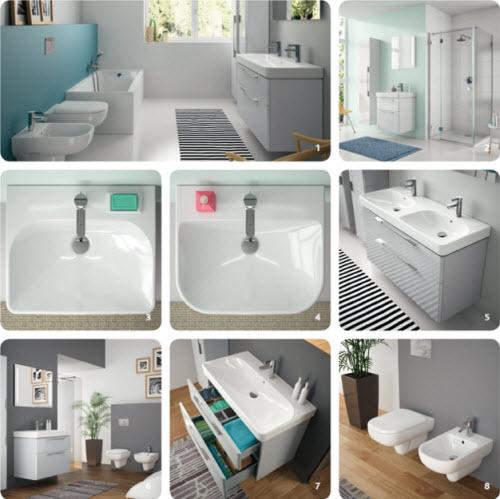 Sphinx 335 sanitair voor de badkamer in twee stijlen - Hedendaagse fontein ...