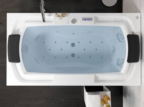 Whirlpool Baden Badkamer : Riho thermea spa whirlpools voor heerlijke ontspanning
