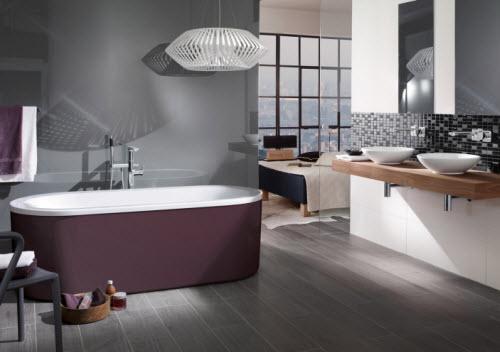 Trendy Kleuren Badkamer : Badkamertrends comfort kleur individualisering retro