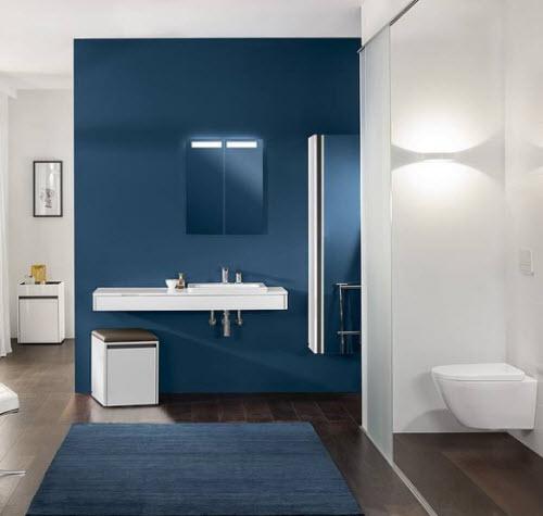 Badkamertrends 2016 comfort kleur individualisering retro - Kleur rood ruimte ...