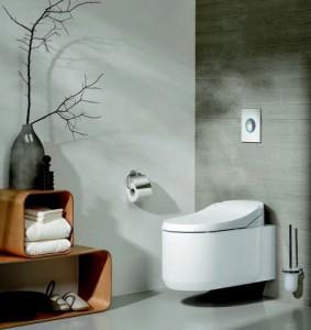 De douche-wc van GROHE