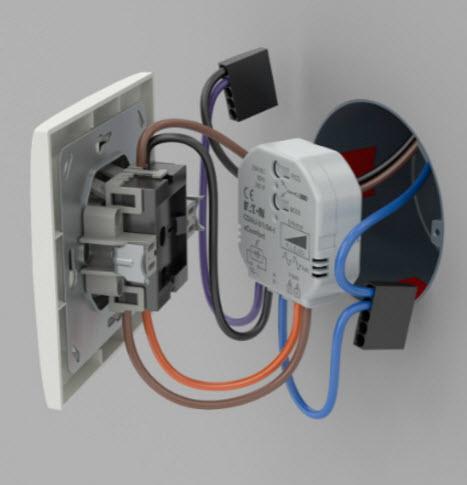 XCOMFORT SMART DIMMER VOOR LED- SPAAR- HALOGEEN EN GLOEILAMPEN