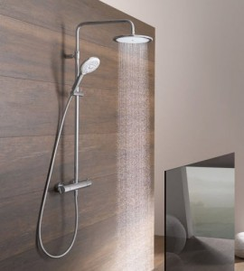 Dual Shower Systems van Kludi