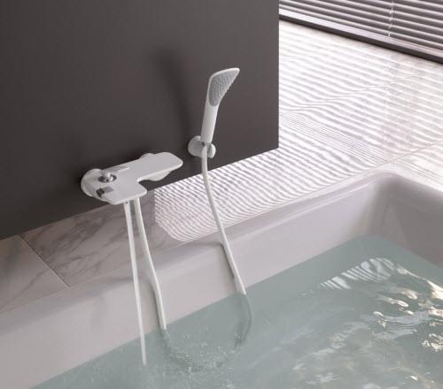 De Kludi Zenta En Balance In Wit Voor De Strakke Badkamer