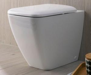 Keramag IT Back to wall toilet