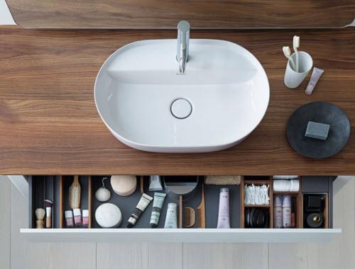 Duravit luv badkamermeubel scandinavische elegantie in zachte tinten