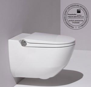 Laufen Cleanet Riva toilet met onderdouche