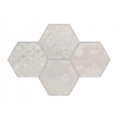Provenza Gesso natural white esagona patchwork decortegel 25,5x29,4 R303X0R