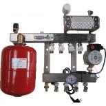 Henco 10 groeps regelunit vloerverwarming UFH-0505-SRWE10