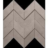Atlas Concorde Dwell Floor Design gray chevron 3D decortegel 30,8x35,1 A1DM