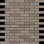 Atlas Concorde Dwell Wall Design greige brick mozaiek 1,7x7,4 30,5x30,5 9DBR