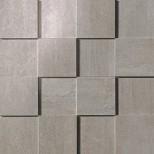 Atlas Concorde Mark Floor chrome 3D mozaiek 30x30 AMYN