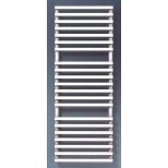 Thermic Bath BC decorradiator H1825xL600mm 1098W RAL9016 wit aansl. 00