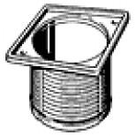 Viega Advantix opzetstuk 100x100mm rvs 488987